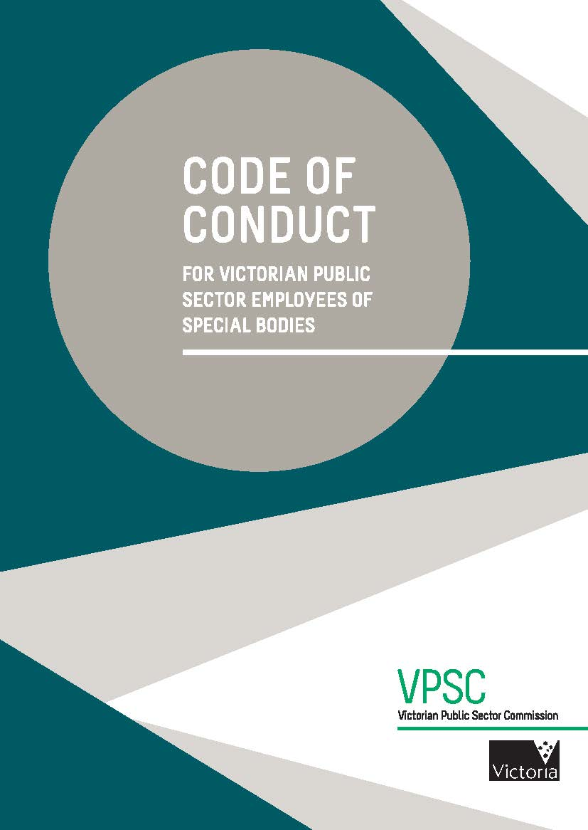 Code Of Conduct For Employees Vpsc