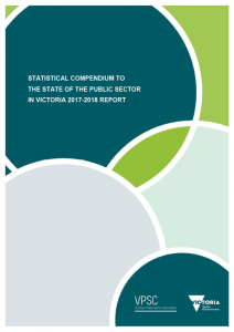 Cover of the SOPSIV Statistical Compendium